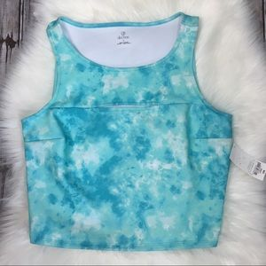 Decree tie dye crop top